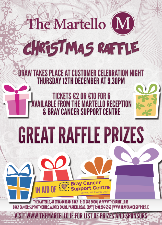 Christmas Raffle Winners! « Purple House Cancer Support