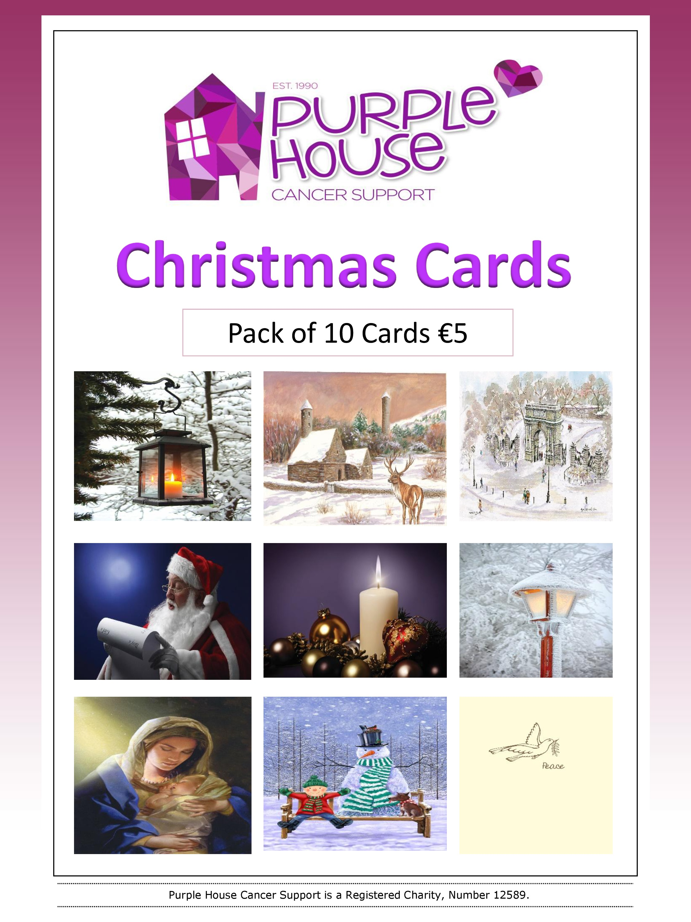 Christmas Cards Now On Sale! « Purple House Cancer Support