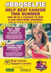 BBQ Selfie Poster